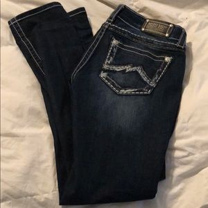 Miss Me skinny jeans size 30